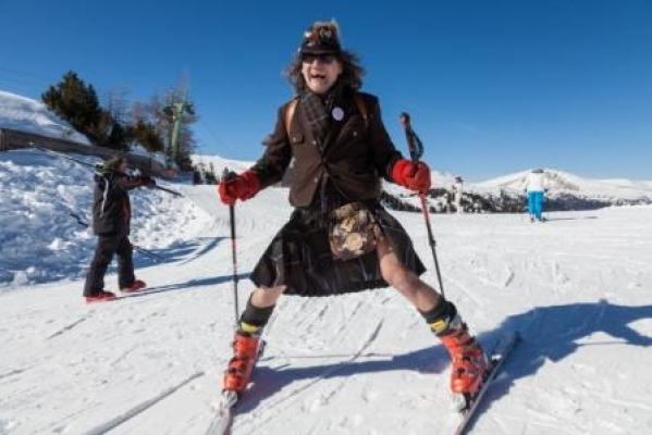 Der Kult-Skitag im Kilt