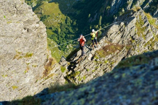 Klettern am Falkert