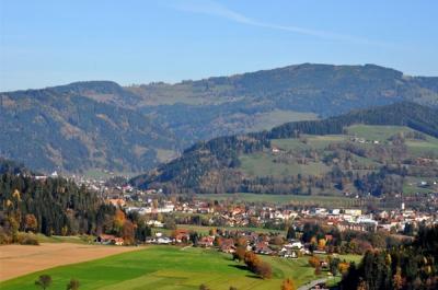 Feldkirchen in Kärnten im Herbst