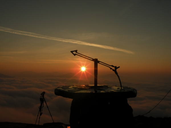 Sonnenaufgang - Wanderung am Falkert